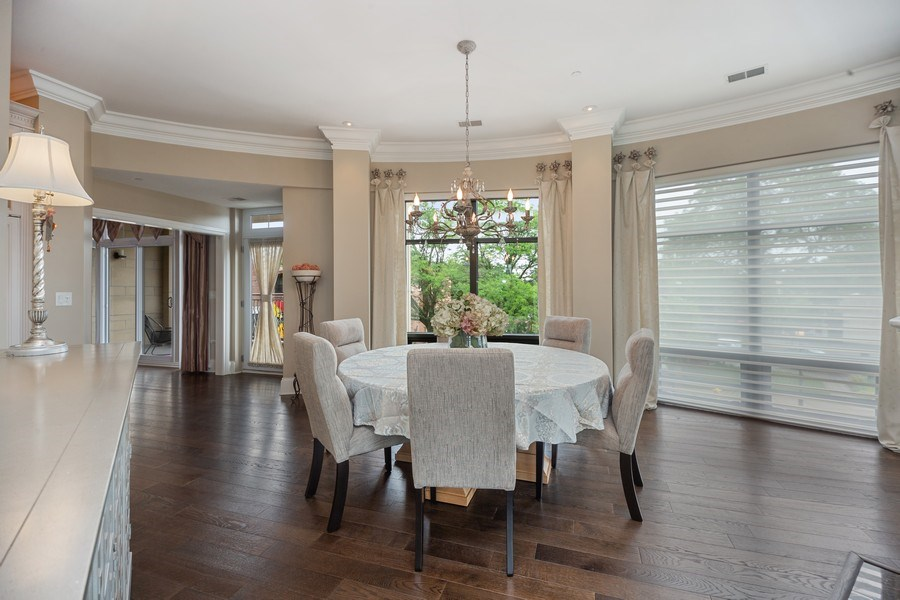 Real Estate Photography - 50 N Northwest Hwy, 208, Park Ridge, IL, 60068 - Dining Room