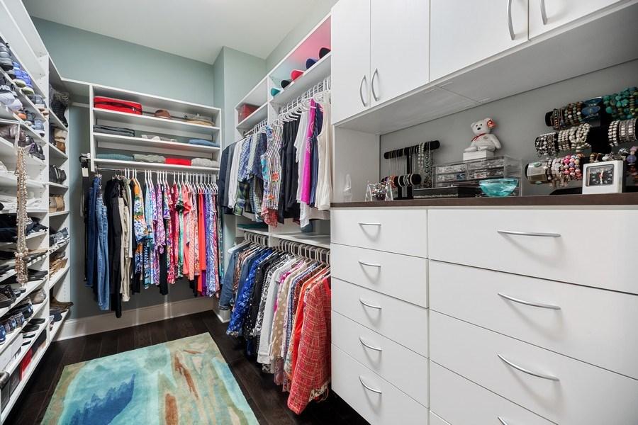 Real Estate Photography - 50 N Northwest Hwy, 208, Park Ridge, IL, 60068 - Master Bedroom Closet