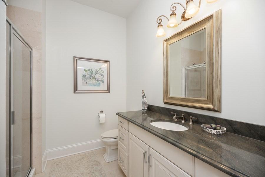 Real Estate Photography - 50 N Northwest Hwy, 208, Park Ridge, IL, 60068 - 2nd Bathroom