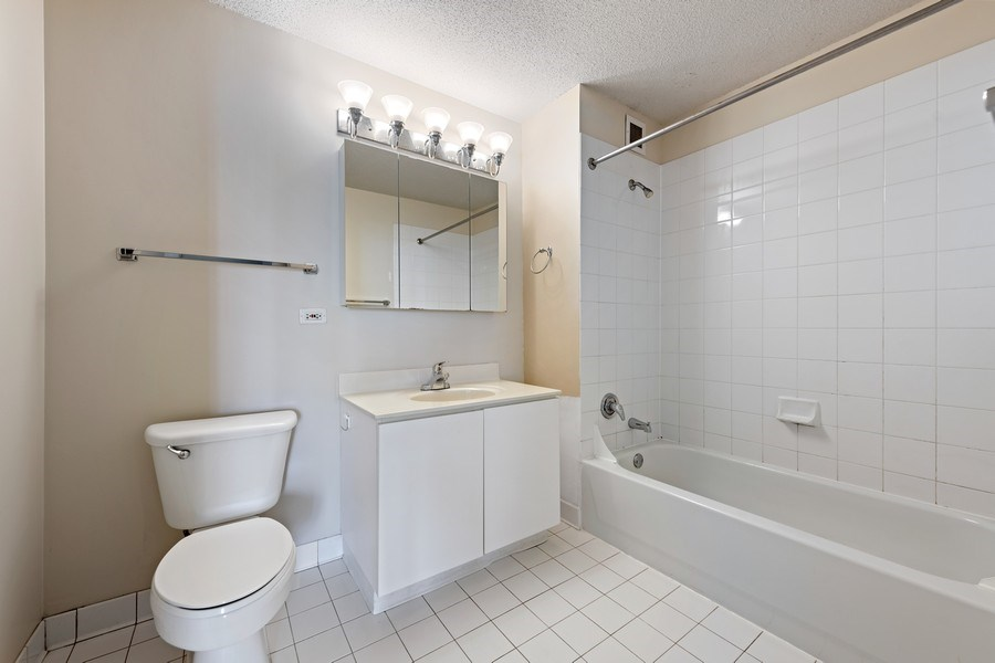 Real Estate Photography - 2 E Erie, 3207, Chicago, IL, 60611 - Bathroom