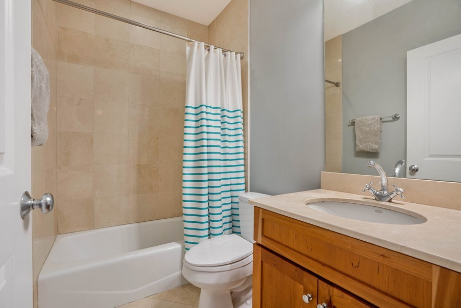 Real Estate Photography - 848 W Roscoe #3, Chicago, IL, 60657 - Bathroom