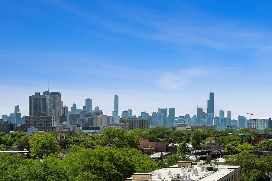 Real Estate Photography - 3631 N Halsted Street #512, Chicago, IL, 60613 - City View
