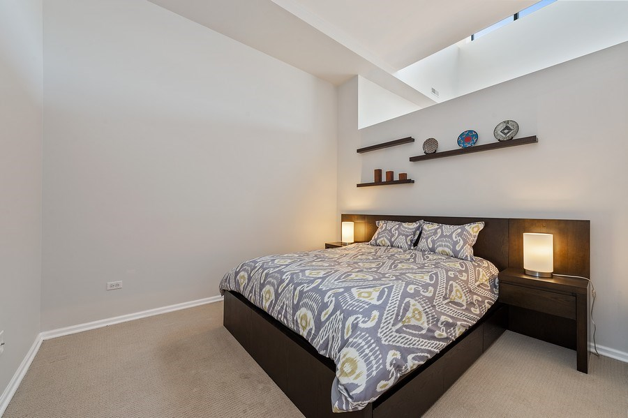 Real Estate Photography - 3631 N Halsted Street #512, Chicago, IL, 60613 - 2nd Bedroom
