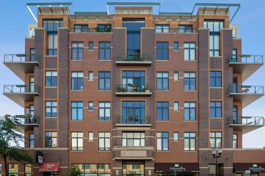 Real Estate Photography - 3631 N Halsted Street #512, Chicago, IL, 60613 - Front View