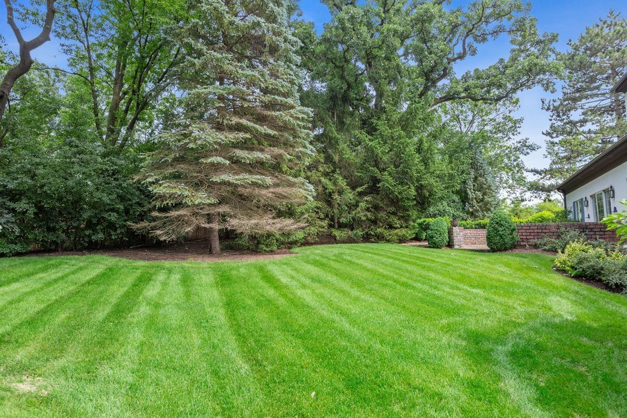 Real Estate Photography - 203 Burr Ridge Club, Burr Ridge, IL, 60527 - Back Yard