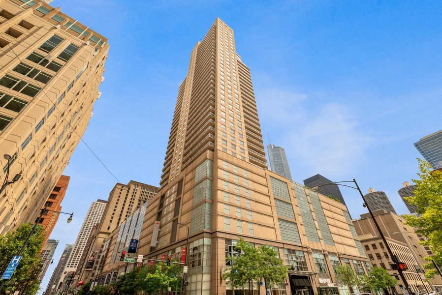 Real Estate Photography - 545 Dearborn, Unit W1606, Chicago, IL, 60654 - Front View