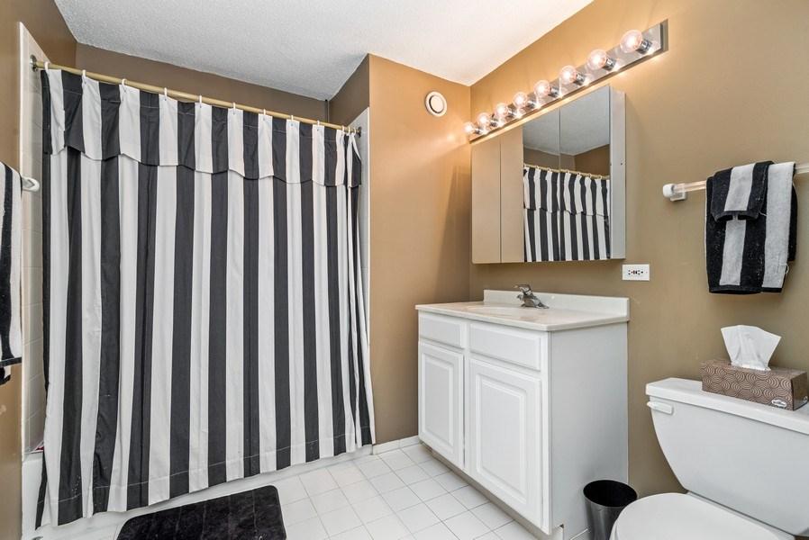 Real Estate Photography - 545 Dearborn, Unit W1606, Chicago, IL, 60654 - Bathroom