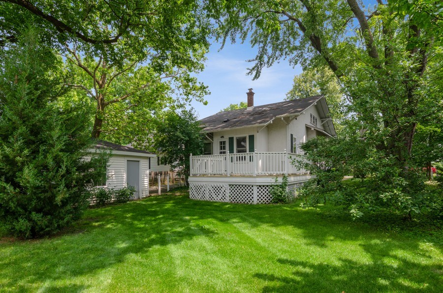 Real Estate Photography - 442 N. Cook St., Barrington, IL, 60010 - Rear View