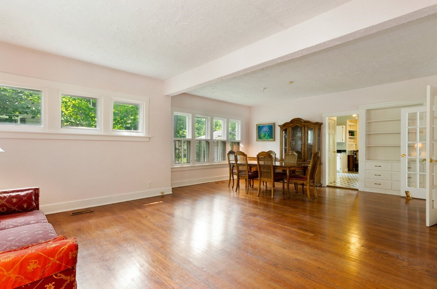 Real Estate Photography - 442 N. Cook St., Barrington, IL, 60010 - Living Room/Dining Room