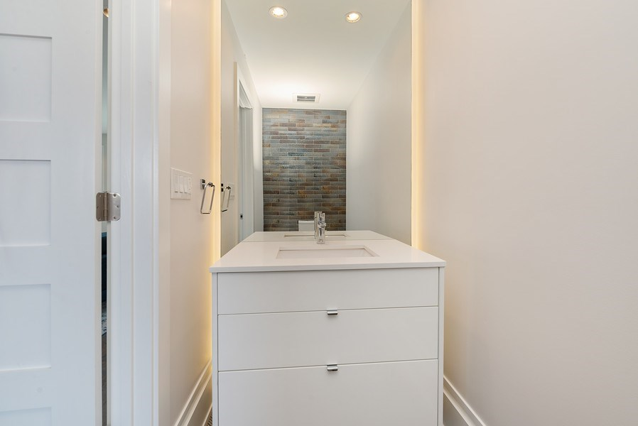 Real Estate Photography - 1428 W Wolfram Street, Chicago, IL, 60657 - 4th Bathroom