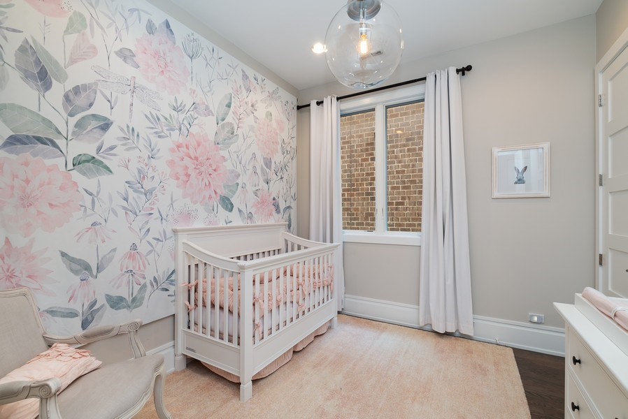 Real Estate Photography - 1428 W Wolfram Street, Chicago, IL, 60657 - 4th Bedroom