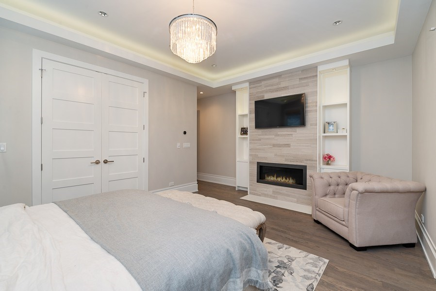 Real Estate Photography - 1428 W Wolfram Street, Chicago, IL, 60657 - Master Bedroom