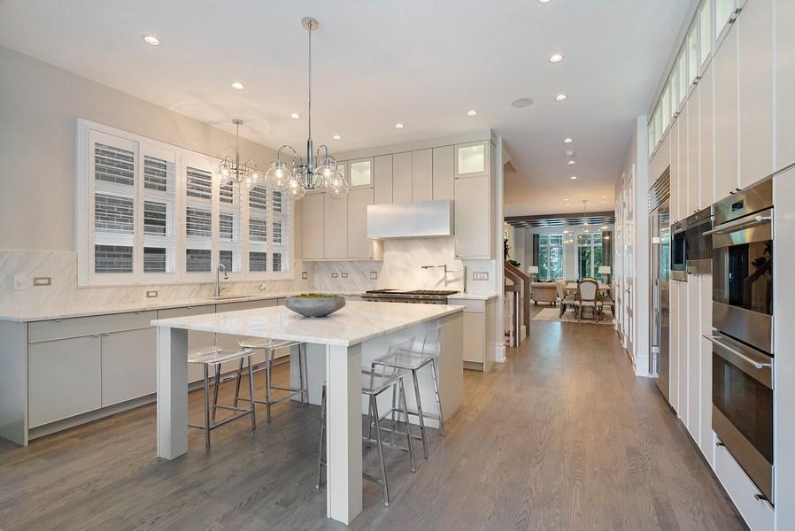 Real Estate Photography - 1428 W Wolfram Street, Chicago, IL, 60657 - Kitchen