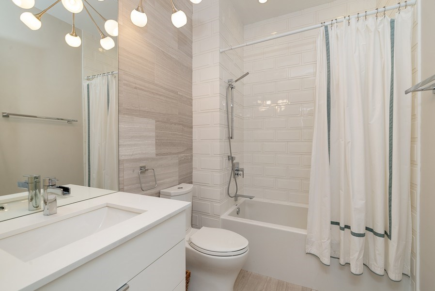 Real Estate Photography - 1428 W Wolfram Street, Chicago, IL, 60657 - Bathroom