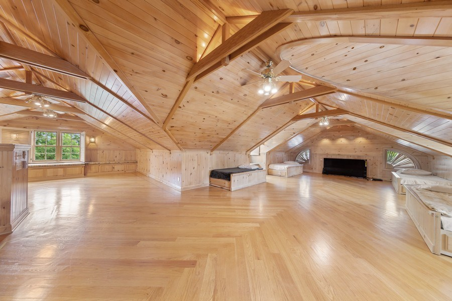 Real Estate Photography - 323 Hillcrest, Hinsdale, IL, 60521 - Attic