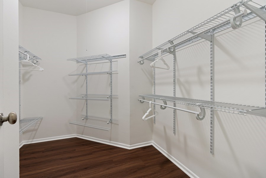 Real Estate Photography - 780 S Federal St, Unit 207, Chicago, IL, 60605 - Master Bedroom Closet
