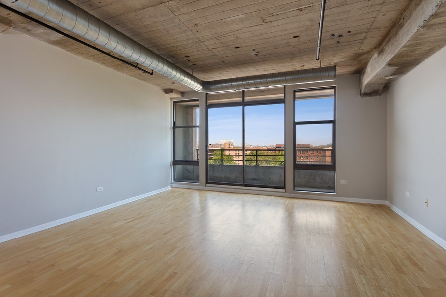 Real Estate Photography - 1550 S Blue Island, Unit 712, Chicago, IL, 60608 - Living Room