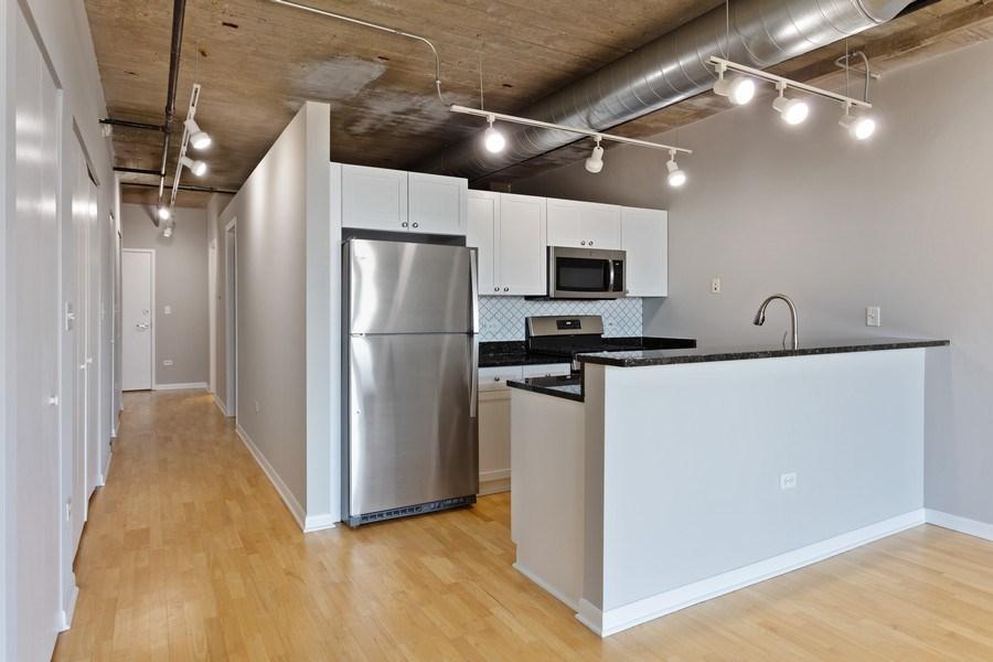 Real Estate Photography - 1550 S Blue Island, Unit 712, Chicago, IL, 60608 - Kitchen