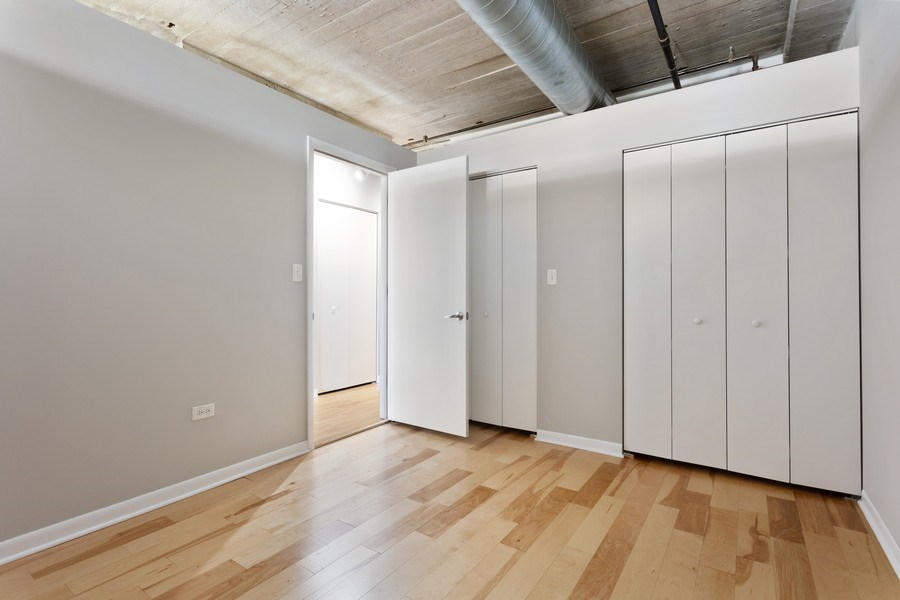 Real Estate Photography - 1550 S Blue Island, Unit 712, Chicago, IL, 60608 - Bedroom