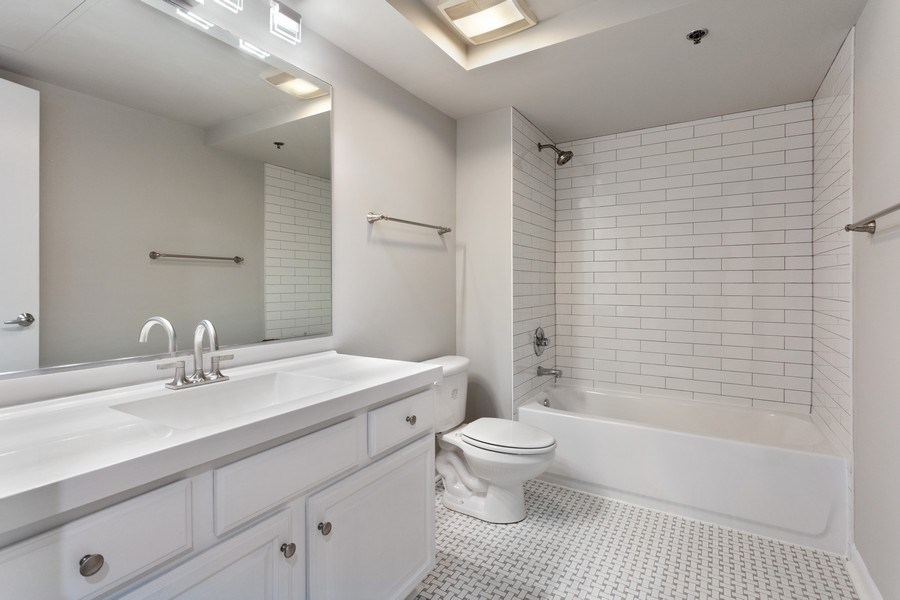 Real Estate Photography - 1550 S Blue Island, Unit 712, Chicago, IL, 60608 - Bathroom