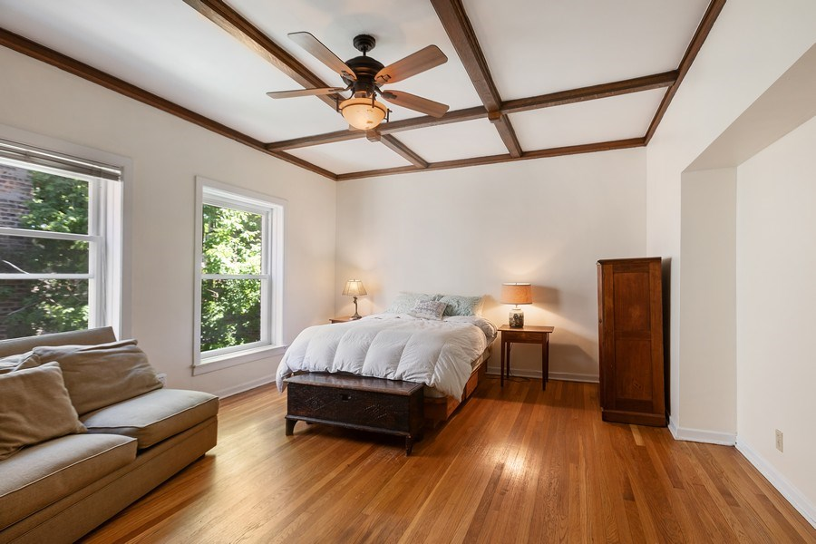 Real Estate Photography - 5007 S Dorchester, Unit 2S, Chicago, IL, 60615 - Master Bedroom
