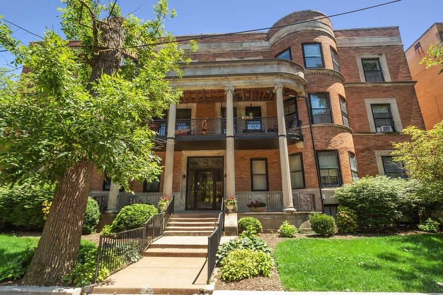 Real Estate Photography - 5007 S Dorchester, Unit 2S, Chicago, IL, 60615 - Front View