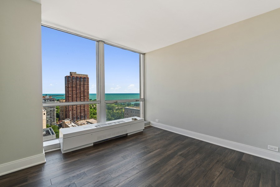 Real Estate Photography - 330 W Diversey, 2508, Chicago, IL, 60657 - 2nd Bedroom