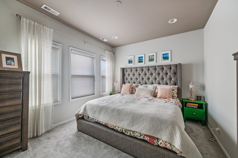 Real Estate Photography - 1217 N Hoyne Unit E, Chicago, IL, 60622 - Master Bedroom
