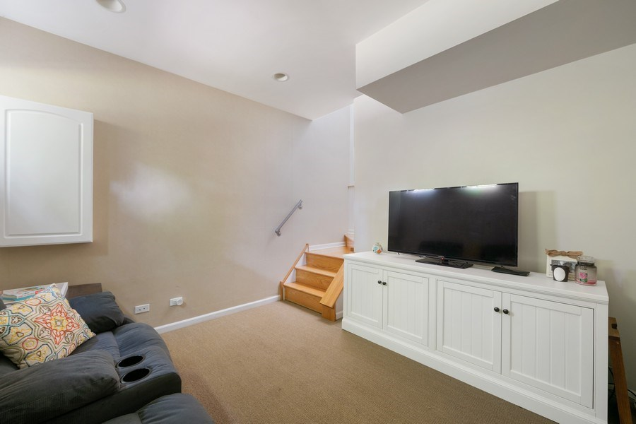 Real Estate Photography - 1217 N Hoyne Unit E, Chicago, IL, 60622 - Family Room
