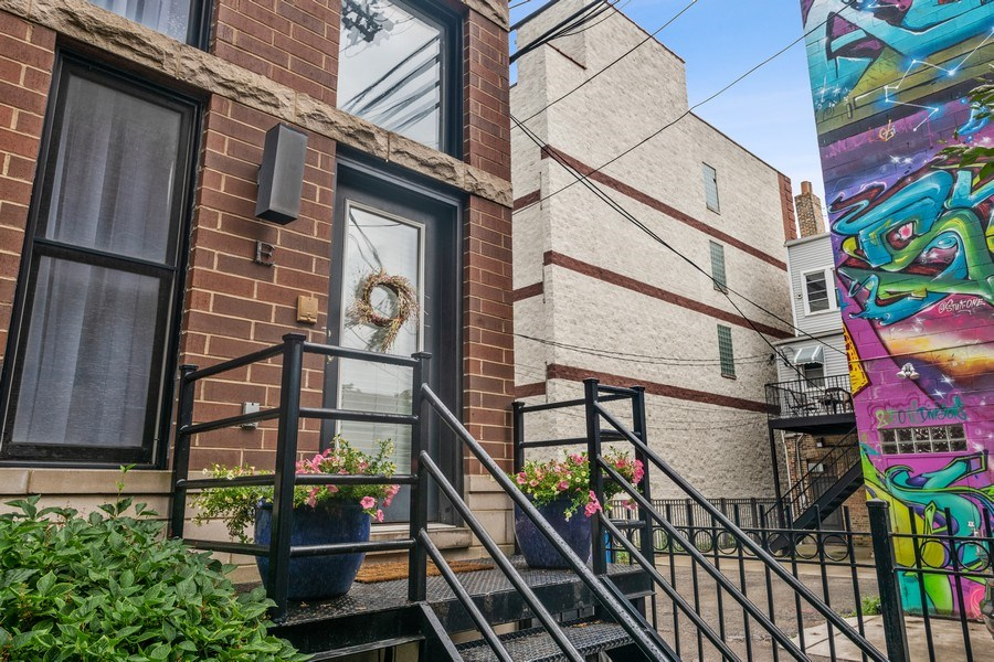 Real Estate Photography - 1217 N Hoyne Unit E, Chicago, IL, 60622 - Front View