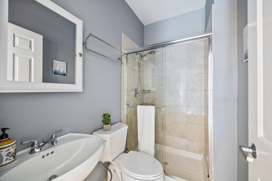 Real Estate Photography - 1217 N Hoyne Unit E, Chicago, IL, 60622 - 2nd Bathroom