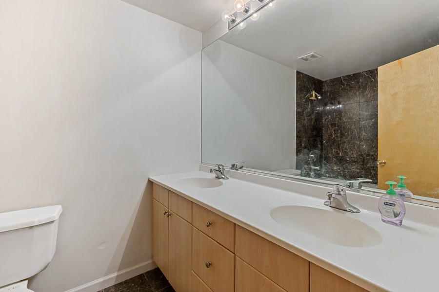 Real Estate Photography - 2101 W Rice, Unit 208, Chicago, IL, 60622 - Master Bathroom