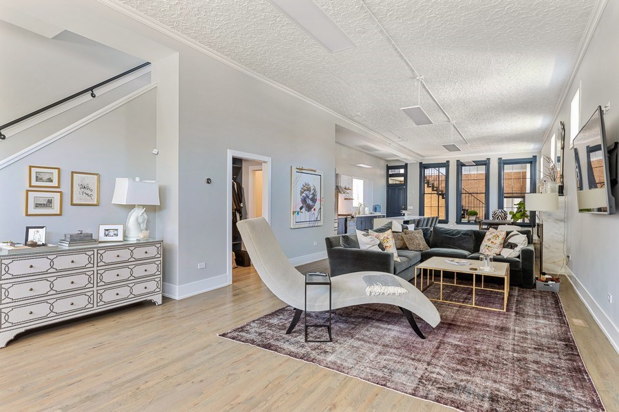 Real Estate Photography - 1160 W 31st St, Chicago, IL, 60608 - Living Room