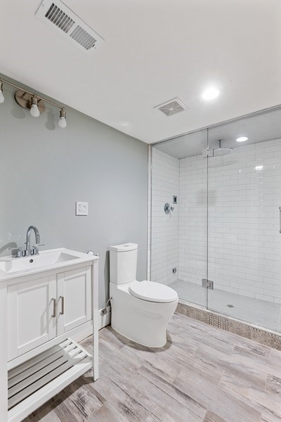 Real Estate Photography - 1160 W 31st St, Chicago, IL, 60608 - 4th Bathroom Lower Level