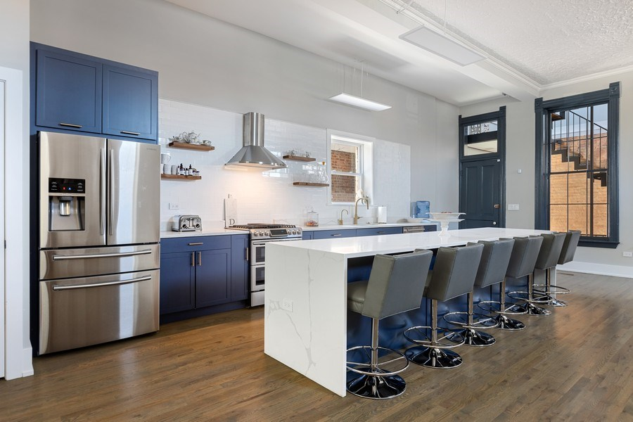 Real Estate Photography - 1160 W 31st St, Chicago, IL, 60608 - Kitchen