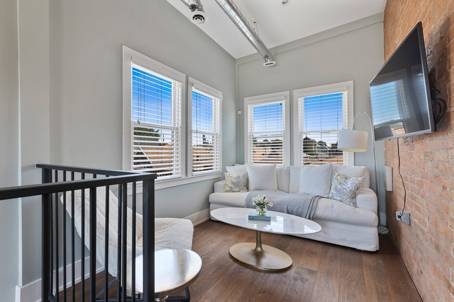 Real Estate Photography - 1160 W 31st St, Chicago, IL, 60608 - 2nd Floor Media / Yoga Room