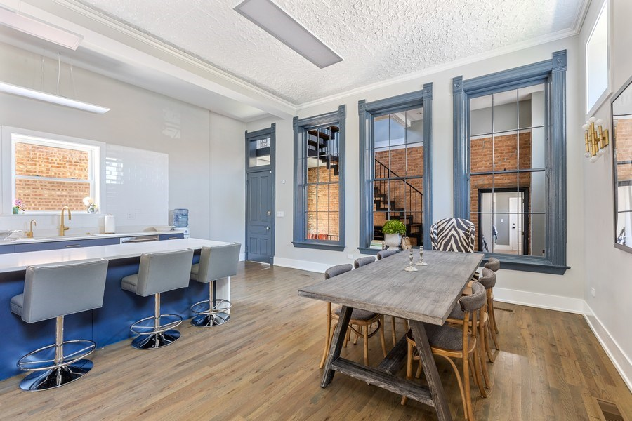 Real Estate Photography - 1160 W 31st St, Chicago, IL, 60608 - Dining Room