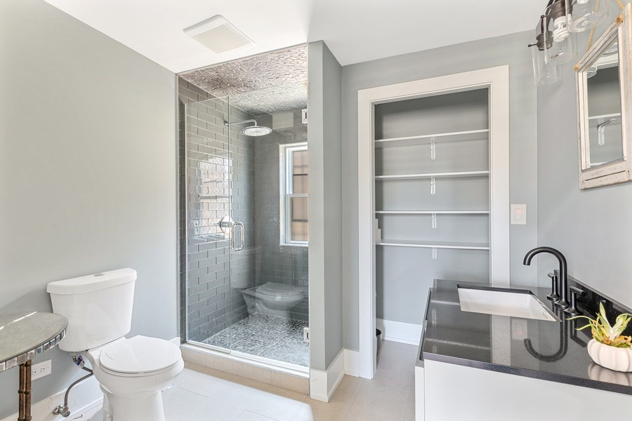 Real Estate Photography - 1160 W 31st St, Chicago, IL, 60608 - Studio Bathroom #3