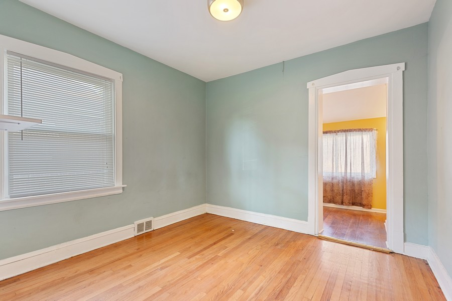 Real Estate Photography - 627 24th Ave, Bellwood, IL, 60104 - Master Bedroom