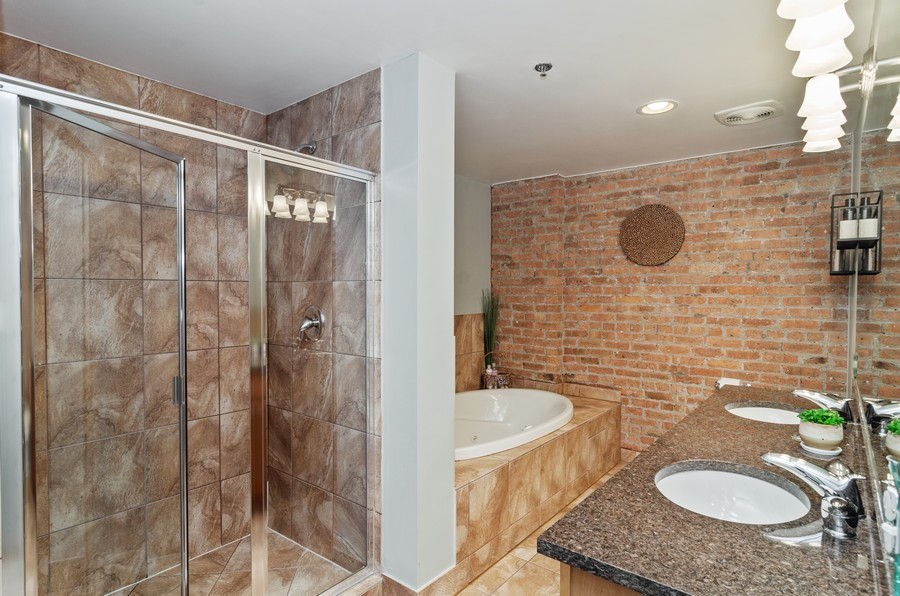 Real Estate Photography - 2806 N Oakley, 204, chicago, IL, 60618 - Master Bathroom