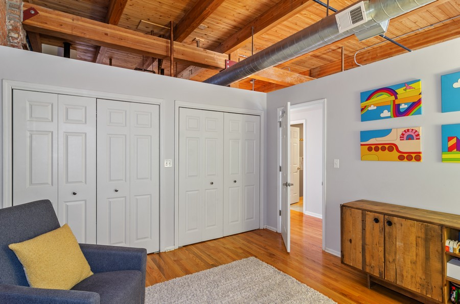 Real Estate Photography - 2806 N Oakley, 204, chicago, IL, 60618 - 2nd Bedroom