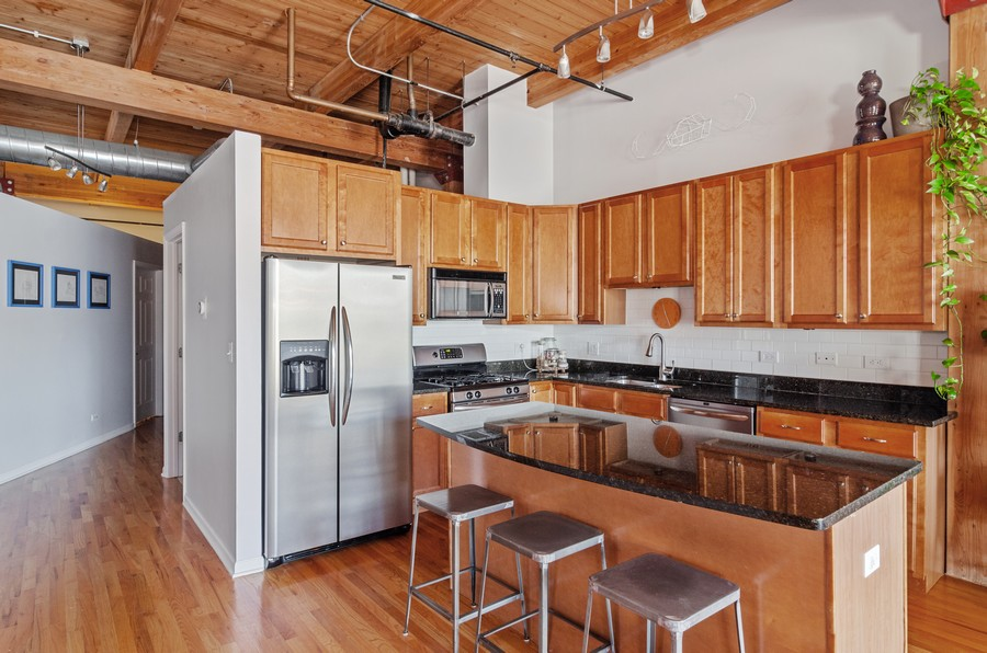 Real Estate Photography - 2806 N Oakley, 204, chicago, IL, 60618 - Kitchen