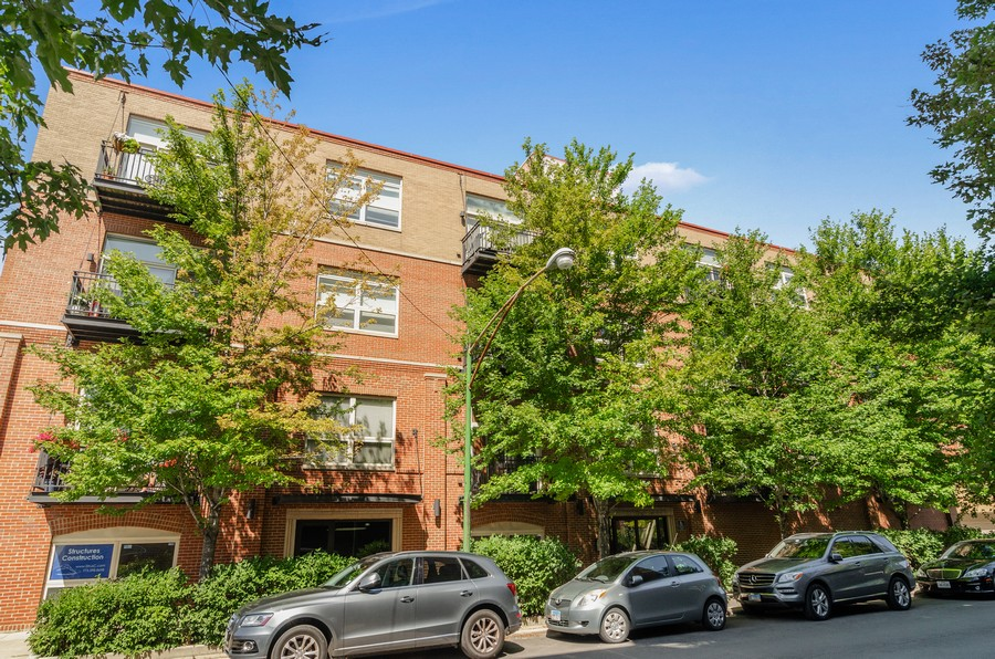 Real Estate Photography - 2806 N Oakley, 204, chicago, IL, 60618 - Front View