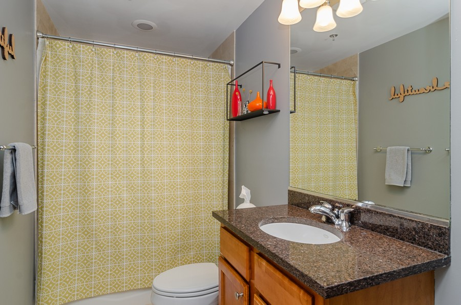 Real Estate Photography - 2806 N Oakley, 204, chicago, IL, 60618 - Bathroom