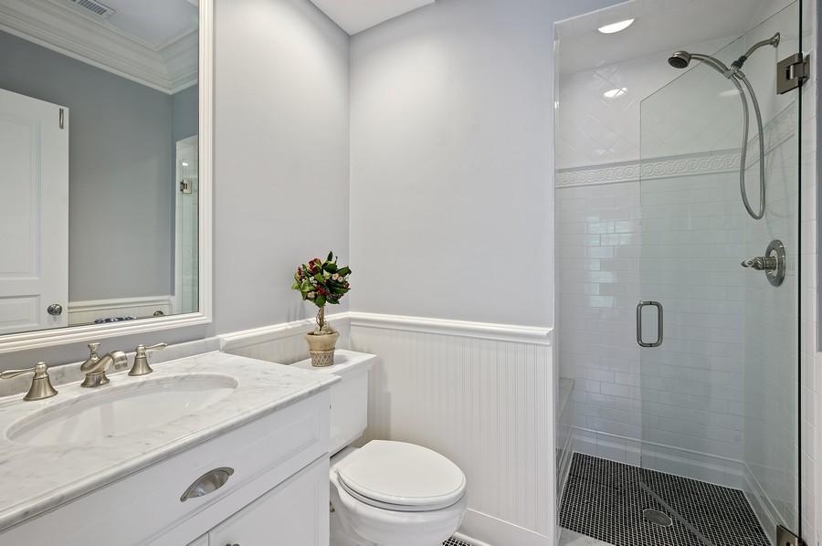 Real Estate Photography - 4 Golf Lane, Winnetka, IL, 60093 - 3rd Bathroom