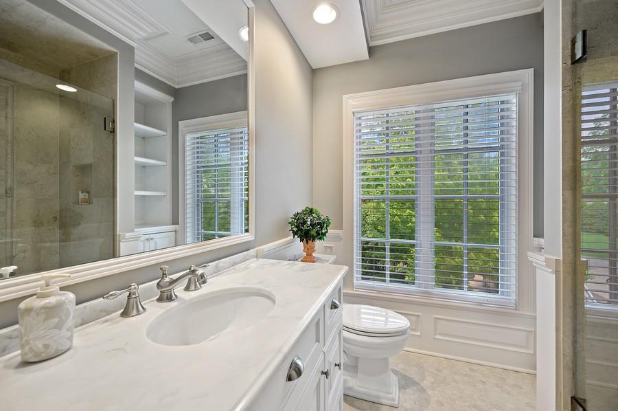 Real Estate Photography - 4 Golf Lane, Winnetka, IL, 60093 - 5th Bathroom