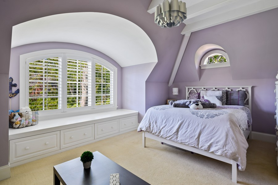 Real Estate Photography - 4 Golf Lane, Winnetka, IL, 60093 - 2nd Bedroom