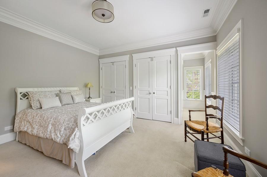 Real Estate Photography - 4 Golf Lane, Winnetka, IL, 60093 - 3rd Bedroom