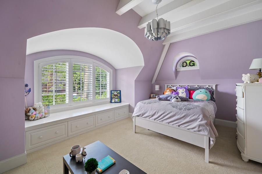 Real Estate Photography - 4 Golf Lane, Winnetka, IL, 60093 - 4th Bedroom