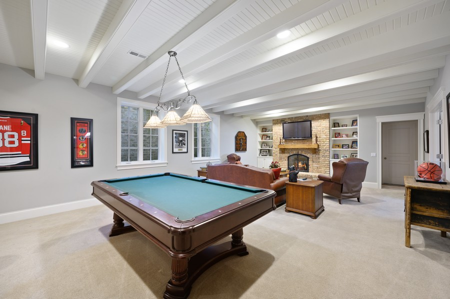 Real Estate Photography - 4 Golf Lane, Winnetka, IL, 60093 - Lower Level
